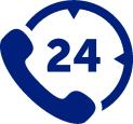 ATC Beveiligingstechniek is 7 dagen 24 uur telefonisch bereikbaar